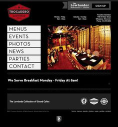 Trocadero Gastrobar Website By Rev Pop #milwaukee #pop #design #website #starr #rev #trocadero #scott