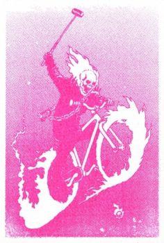 portfolio : babycrow #print #illustration #bike #polo #fixed #babycrow
