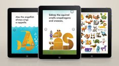 944x530_app_3ipads #animals #illustration #app #typography