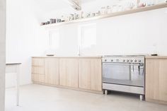 Cucina #wood #kitchen #white