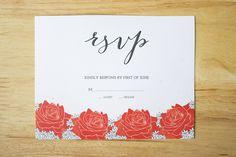 Wedding Invitation #invite #print #wedding #invitation