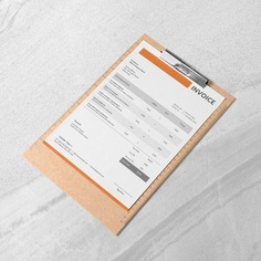 Modern Invoice Template Freelancer Invoice Photographer | Etsy