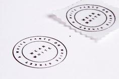 RoAndCordials | RoAndCo Studio #white #invitation #stamp #roandco