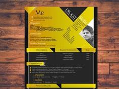 Modern Designer - Free Modern Resume Template for Designer