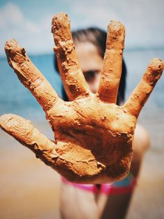 #photography #personal #hand #child #mud #5