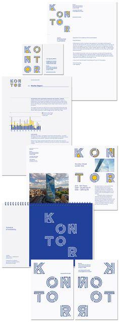 Kontor Identity | Bibliothèque Design #ss