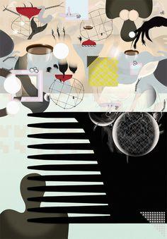 Untitled #abstract #edvard #me #exhibition #illustration #up #scott #pick