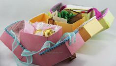 40+ Creative DIY Favor Boxes #cake #favor #box #candy #boxes #gift #diy #decorative