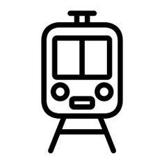 See more icon inspiration related to train, travel, transportation, rails, street, travelling and transport on Flaticon.