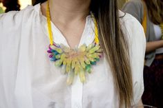 Pinned Image #rainbow #colour #necklace