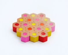DIY: Colored Pencil Jewelry #colored #pencil