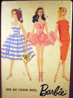 vintage barbie #illustration #vintage