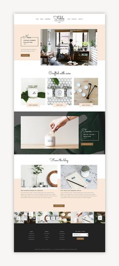 Fable Squarespace Kit - Station Seven WordPress Themes