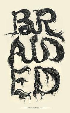 FFFFOUND! | braided :: Typography Served