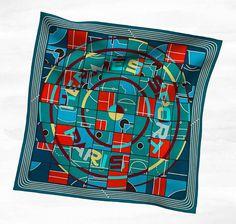 Hermès #fashion #illustration #scarf #sports