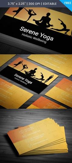 Free Reiki Business Card Template