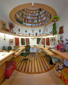 Ceiling Library #interior #design #decor #deco #decoration