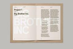 «This is Real Art — Prospectus 2012/2013» в потоке «Лукбуки / Каталоги, Типографика» — Посты Р#catalog #typography