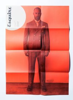 Esquire – Exclusive | September Industry #esquire #red #print #clean #grid