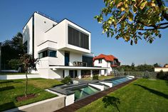 Cubic Shapes and Modern Comfort Near Cracow, Poland: XV House #architecture #modern