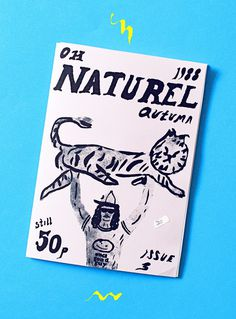 Oh Naturel by Sac Magique — Agent Pekka #illustration