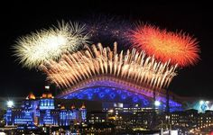 The artistic show for the Opening ceremony of the Winter Olympics Sochi 2014