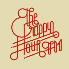 the crappy hour FM Lettering Collection on Behance by Sergi Delgado