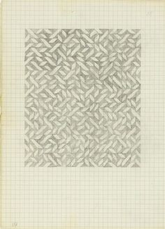 The Josef & Anni Albers Foundation #anni #from #drawing #geometric #on #albers #notebook #pencil #paper #1970