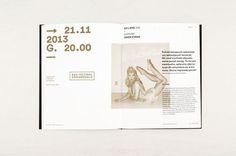 XXXII Festival Ars Cameralis brochure - Marta Gawin #brochure #layout #editorial #typo