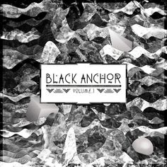 Akupoftea #black #barneau #vinyl #music #anchor #christophe #typography
