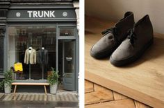 Trunk Clothiers hipshop in London.