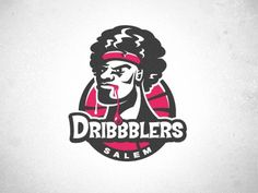 Dribbble - Salem Dribbblers by Matt Kauzlarich #dribbblers #vector #team #salem #basketball