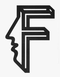 Shigeo Fukuda — F #icon #logo #logotype