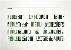 Best Awards - Designworks Auckland. / Little Algiers #typography