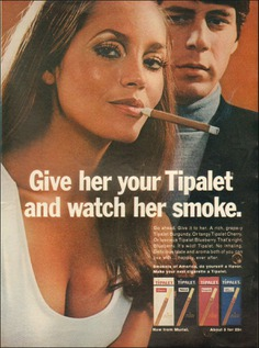 1969 Vintage ad for Tipalet `retro Cigarettes Tobacco sexy Model (042119) | eBay