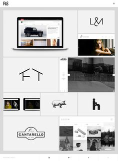 R&Co. Design Website #grid #design #web #minimal