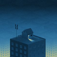 Big City Lights II on Behance