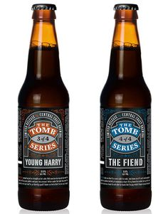 Tomb Series Packaging #packaging #beer #label #bottle