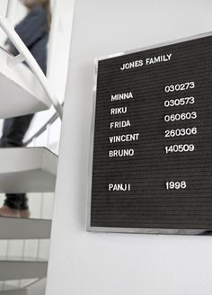 ANNALEENAS HEM // pure home decor and inspiration! #blackboard