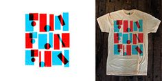 Fun Fun Fun Fest: Apparel | Erick Montes #type #print #apparel