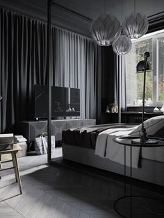 Interior design, bedroom