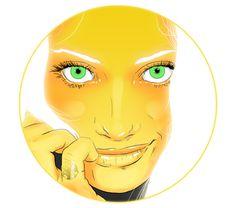 Oribe Goddess on Behance #fantasy #branding #goddess #mcauliffe #hair #illustration #timothy #oribe #fashion #beauty