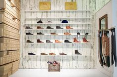 Folk Clothing - hipshops in London #display #shoe