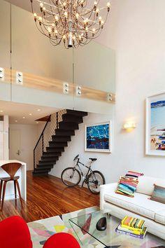 Light Filled Duplex by Axis Mundi Design