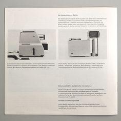 Braun Erfolge mit neuen Geraten 1958 via www.dasprogramm.org
