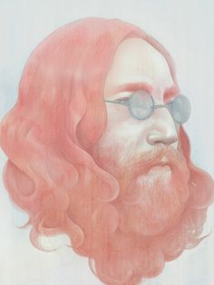portraits - Hsiao Ron Cheng #legend #beatles #lennon #design #illustration #john #painting #art #music #pastel