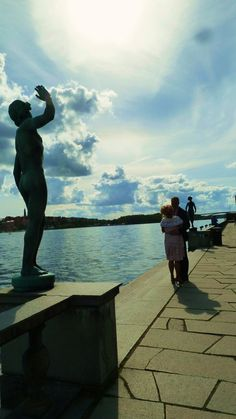 Stock Home 2011 on Behance #sweden #wallb #statue #stockholm #love #kiss