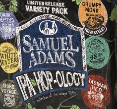 Sam Adams Hop-ology #packaging #beer #label #bottle