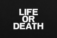 Life Or Death by DIA #logo #logotype #typography