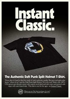Daft Punk #70s #design #poster #apparel